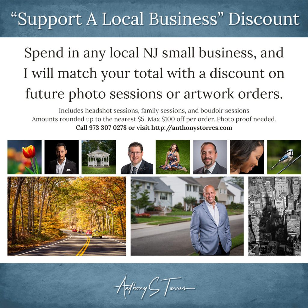 Support a Small Business in NJ : Receive Matching Discount