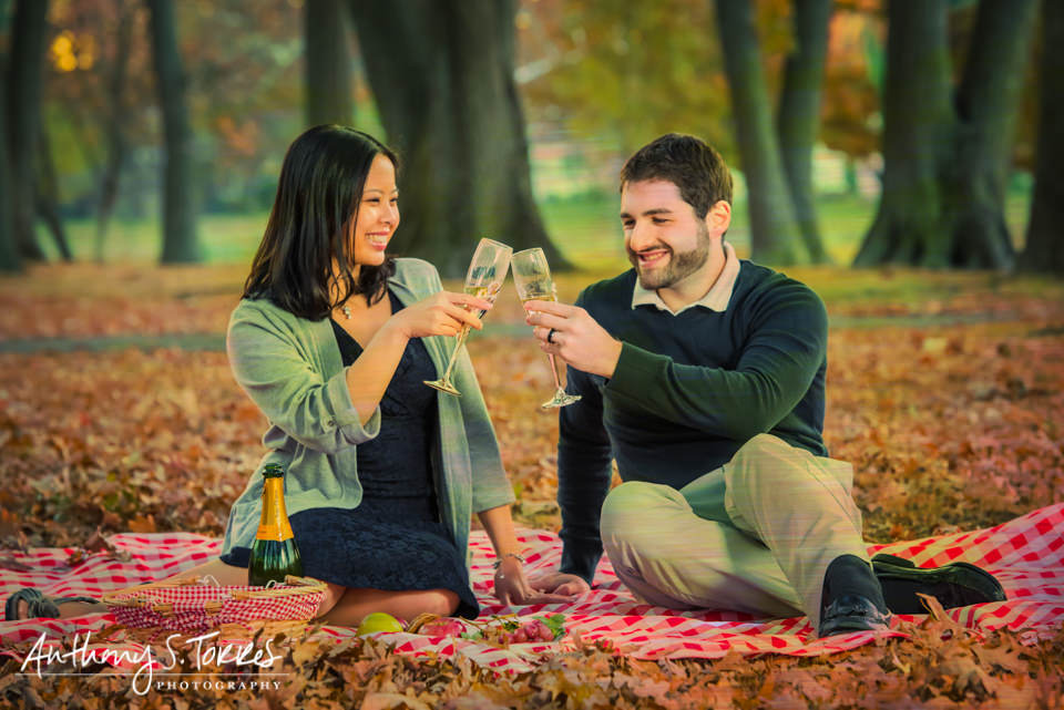 From Engagement Photos to 2nd Anniversary Photos: Nomahegan Park, Cranford, NJ