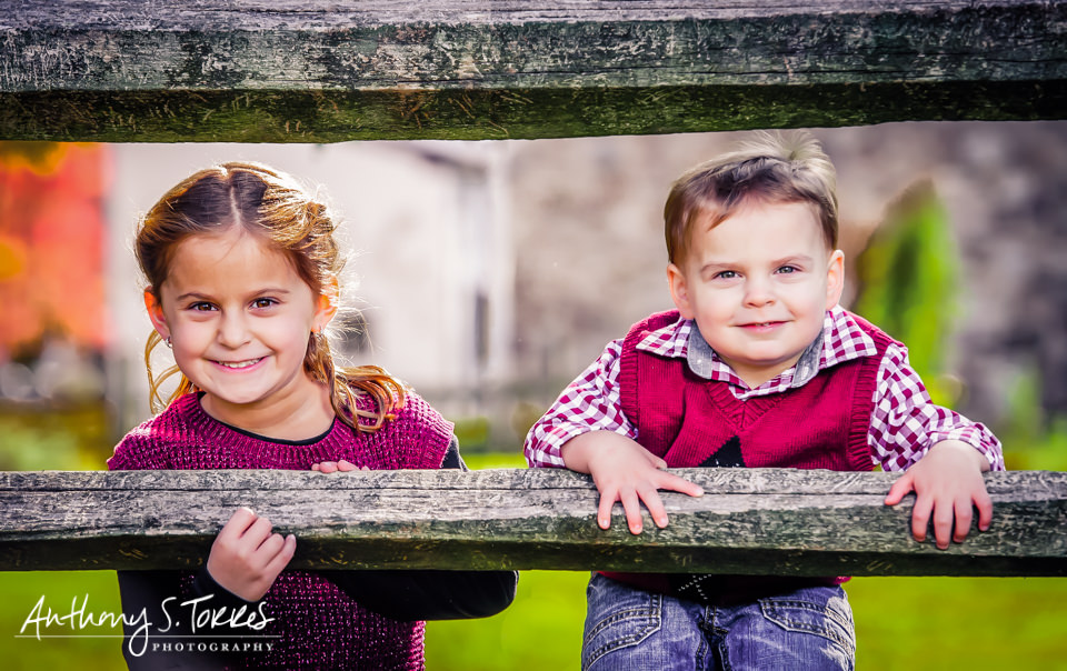 Pennsylvania Fall Family Photo Session: Washington Crossing Park, PA
